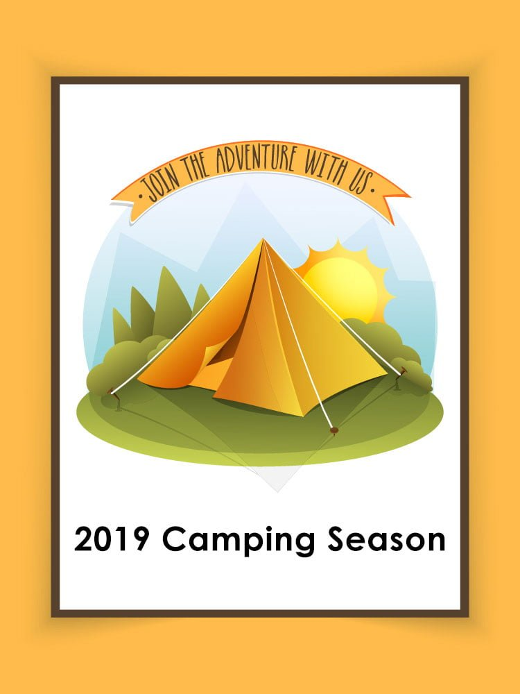 Welcome to this year's camping season